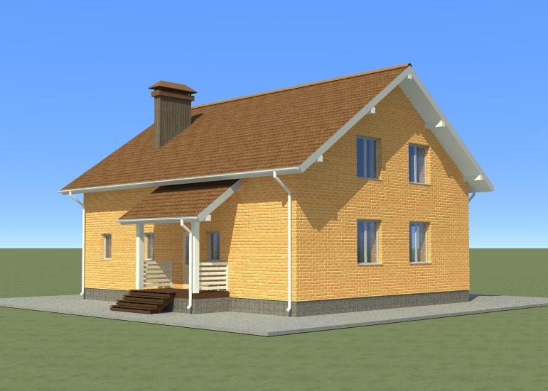 Индивидуальный жилой дом. (Проект 47)