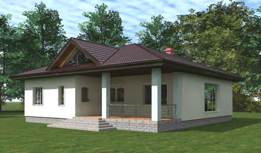 Индивидуальный проект каркасного дома